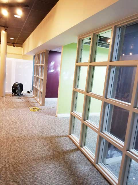 Space Management South Dayton operations center renovation